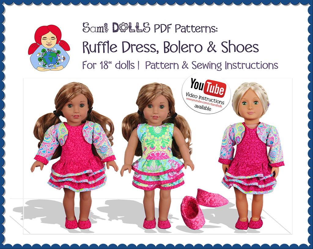ruffle dress agd