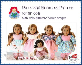 18 dress and bloomers
