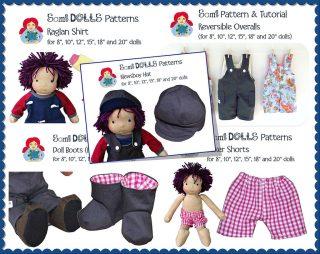 5 boy doll patterns