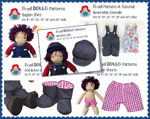 5 boy doll patterns
