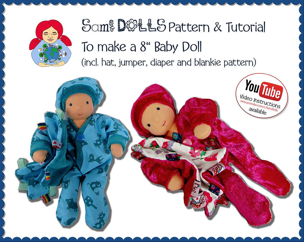 8 Sami Baby Doll Pdf Pattern Download