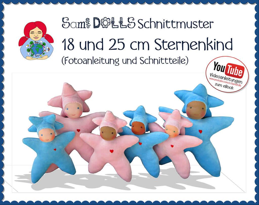 18 und 25 cm Sami Sternenkind | PDF eBook