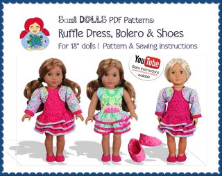 ruffle dress agd