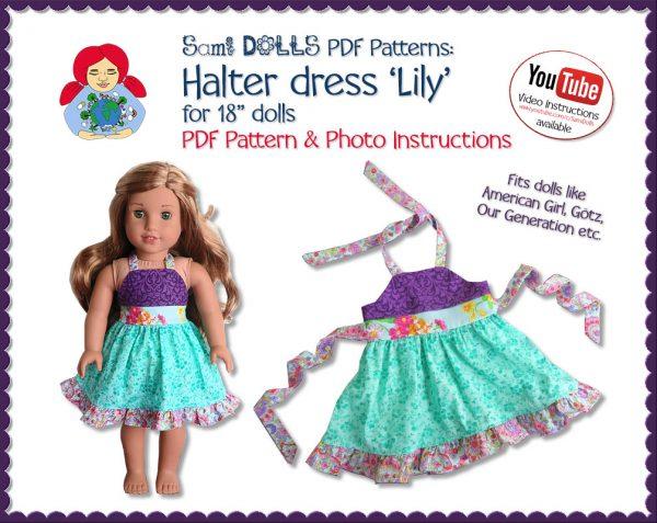 Halter dress Lily