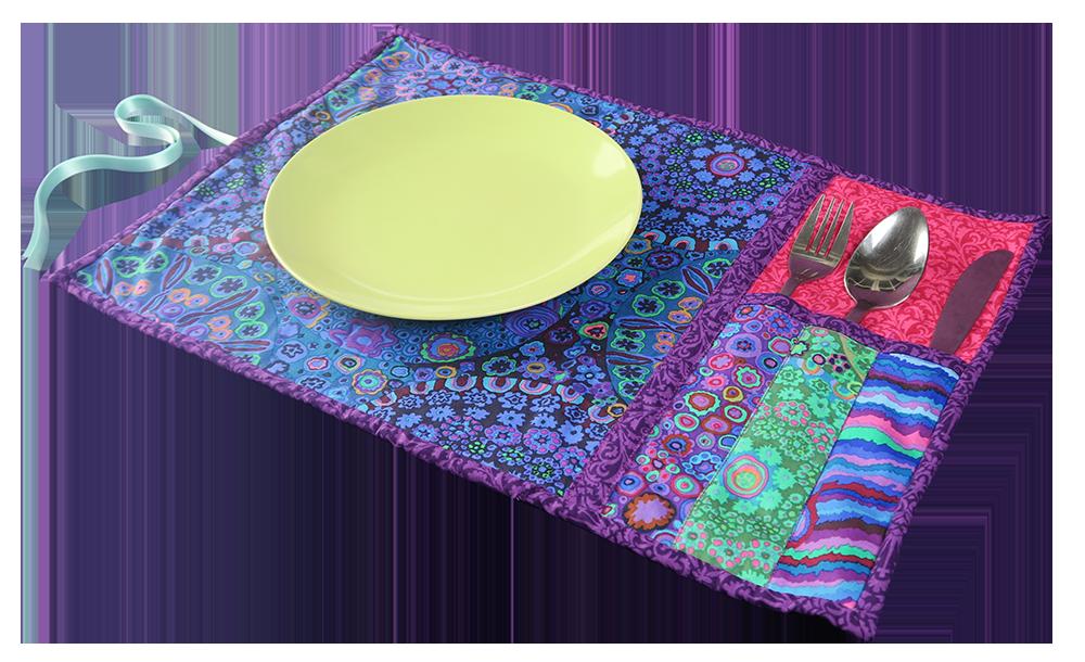 Picknick Tischset mit Bestecktasche   Sami Dolls PDF Download